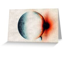 Solar Moon Greeting Card