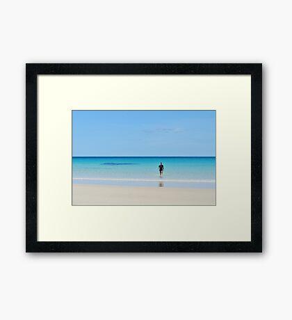 Boat Harbour Framed Print