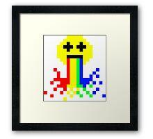 8 Bit Hangover Framed Print