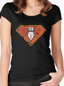 Ps/Ai Superheroes Women's Fitted Scoop T-Shirt