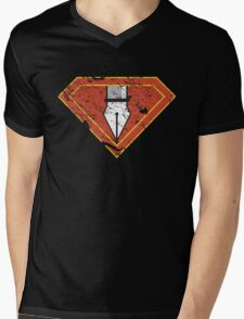 Ps/Ai Superheroes Mens V-Neck T-Shirt