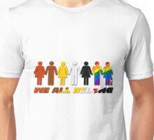 We all belong  Unisex T-Shirt