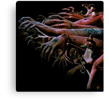 ZOMBIE HANDS Canvas Print