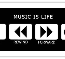 MUSIC LIFE Sticker