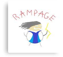 Zeus Rampage Canvas Print