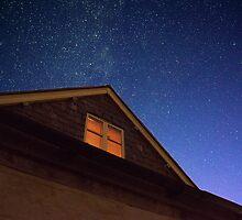 Night sky in Painswick, UK by Robert Cass