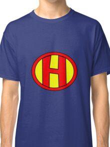 Hero, Heroine, Superhero, Initials,  H Classic T-Shirt