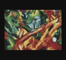 Monkey After Franz Marc, 1912 Baby Tee