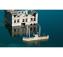 Sunken building Photographic Print