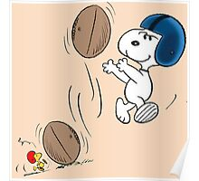 snoopy sport Poster