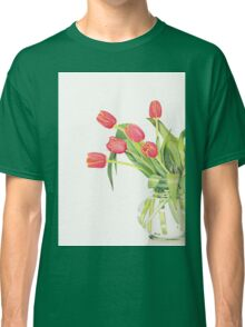 Orange tulips Classic T-Shirt