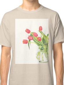 Orange tulips Classic T-Shirt