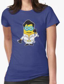Disco minion Womens Fitted T-Shirt