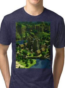 minecraft Tri-blend T-Shirt