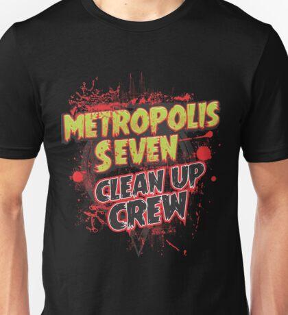 Metropolis Seven Clean Up Crew Unisex T-Shirt