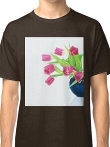 Pink tulips. Classic T-Shirt