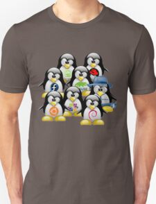 Linux Distro T-Shirt