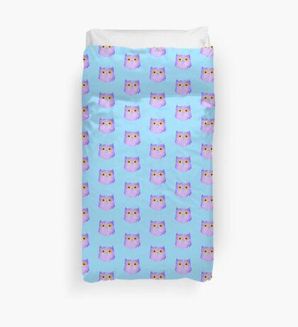 Lilac Owl Duvet Cover