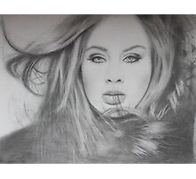 Adele Photographic Print