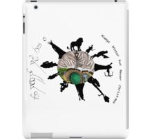 Narnia meets Middle earth  iPad Case/Skin
