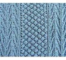 Hand Knitting Pattern Design Photographic Print