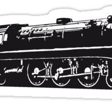 dampflok railroad locomotive Sticker