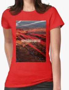 Koyaanisqatsi Poster Womens Fitted T-Shirt