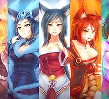 Skins Ahri - League Of Legends by FullLeague