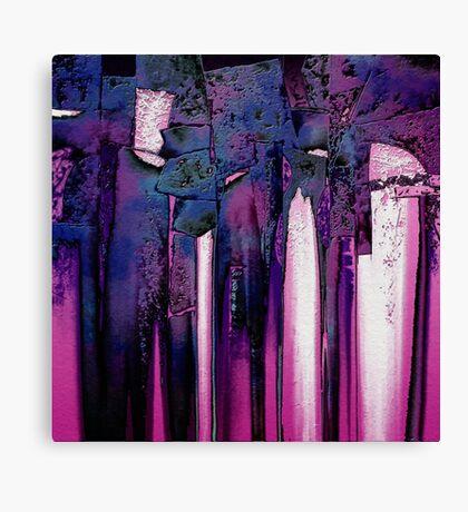 Cherry-coloured Funk Canvas Print