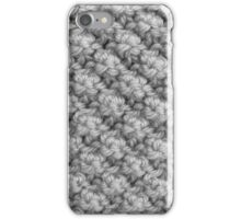 Hand Knitting Bobble Pattern iPhone Case/Skin