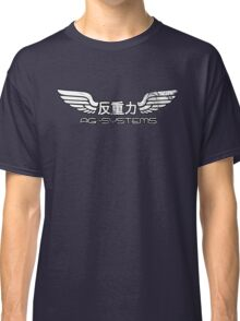 Wipeout - AG Systems - 50s Style (Outlined) Classic T-Shirt