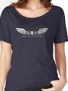 Wipeout - AG Systems - 50s Style (Outlined) Women's Relaxed Fit T-Shirt