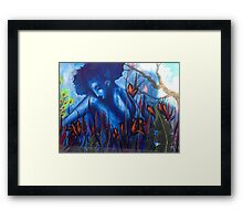 A Girl iN TroublE  Framed Print