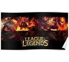League Of Legends - Fire Poster