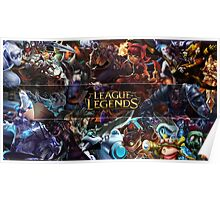 Champions LoL - League Of Legends Poster