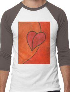 I Love Men's Baseball ¾ T-Shirt