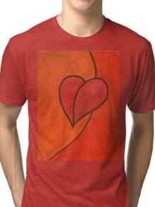 I Love Tri-blend T-Shirt