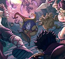 League Of Legends - Manga Arena by FullLeague