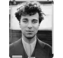 Charlie Chaplin - Photo iPad Case/Skin
