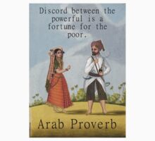 Discord Between The Powerful - Arab Proverb Kids Clothes
