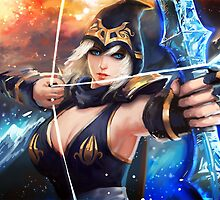 Sexy Ashe - League Of Legends by FullLeague