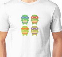 Teenage Mutant Ninja Kawaii Turtles Unisex T-Shirt