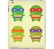 Teenage Mutant Ninja Kawaii Turtles iPad Case/Skin