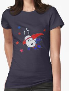 snoopyhero Womens Fitted T-Shirt