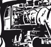 dampflok railroad lok cool Sticker