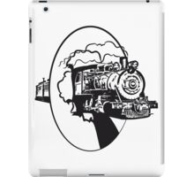 dampflok railroad lok cool iPad Case/Skin
