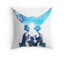 Ratchet and Clank Metropolis Throw Pillow