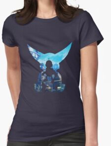 Ratchet and Clank Metropolis Womens Fitted T-Shirt