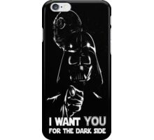 Darth Vader for the Dark Side iPhone Case/Skin
