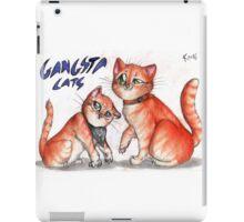 Gangsta cats iPad Case/Skin